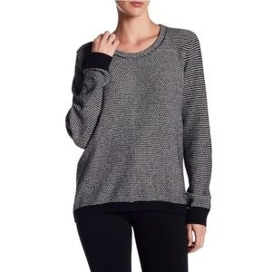 Madewell Black and White Sweater